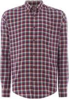 Barbour Men's Steve McQueen small windowpane hero shirt