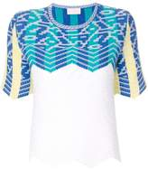 Peter Pilotto patterned crochet top