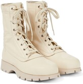 Thumbnail for your product : Jil Sander Lace-up leather ankle boots