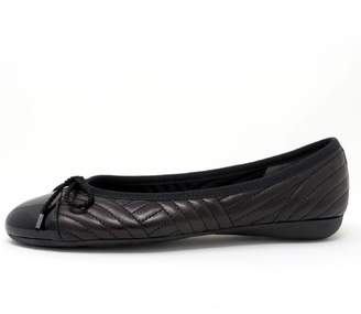 Paul Mayer Quilted Black Flat