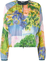 adidas by Stella McCartney floral print jacket - women - Polyester - XS
