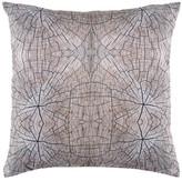 """Torre & Tagus Printed Photo Cushion - 18"""" x 18"""" - Wood Grain Tone"""