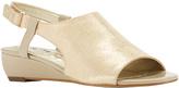 Walking Cradles Light Taupe Daphne Leather Sandal