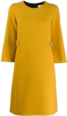 Schumacher Dorothee stitch detail dress