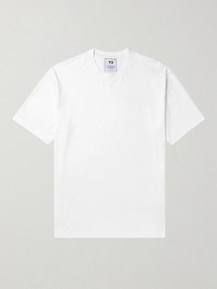 Y-3 Logo-Print Cotton-Jersey T-Shirt