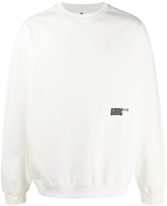 Oamc Long Sleeve Photographic Print Sweater