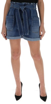 RED Valentino High Waist Denim Shorts