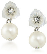 Carolee 21 Club Mother-of-Pearl Double-Drop Earrings