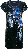 Twin-Set sequin embellished dress - women - Cotton/Nylon/Polyester/Viscose - S