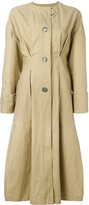 Isabel Marant Slater trench coat - women - Cotton/Linen/Flax - 40