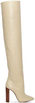 Saint Laurent 105mm Soixante Seize Leather Boots