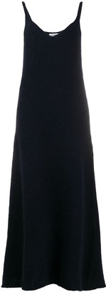 Jil Sander Mid-Length Knit Slip Dress