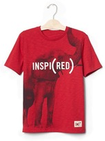 Gap GapKids x (RED) graphic tee