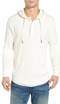 Lucky Brand Washed Hooded Henley