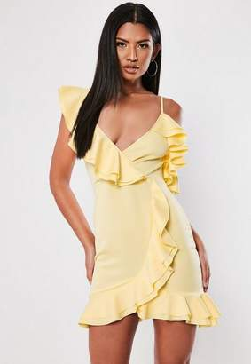 Missguided Strappy Frill Tea Dress