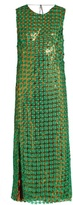 Marco De Vincenzo Embroidered floral-lace layered dress