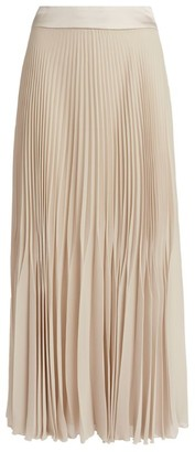 Peserico Pleated Maxi Skirt