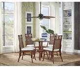 Oasis Bay Isle Home Lamont 5 Piece Dining Set Bay Isle Home Chair Color: Sunbrella Dolce