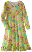 Sara's Prints Girls 7-16 Polka Puffed Sleeve Nightgown