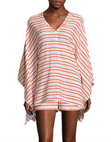 Michael Kors Multi-Striped Cover-Up