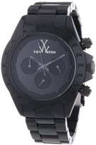 Toy Watch Women's MO08BK Monochrome Black Stainless Steel Watch