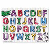 Melissa & Doug See-Inside Alphabet Peg (UC)