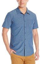 Billabong Men's Crossfire X Woven Short Sleeve Shirt