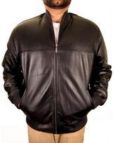 Hudson SkinCraft, Inc. Outerwear Men's Black Leather Jacket