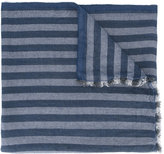 Ermenegildo Zegna striped scarf - men - Silk/Linen/Flax/Cashmere - One Size