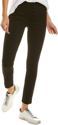 Joe's Jeans The High-Rise Black Skinny Ankle Cut Jean
