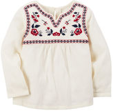 Carter's Embroidered Babydoll Top