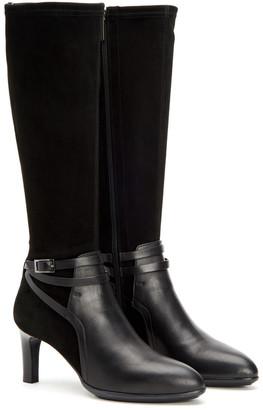 Aquatalia Dayna Weatherproof Leather & Suede Boot