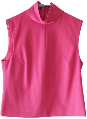 New York Industrie Pink Wool Top for Women