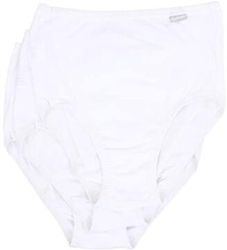 Jockey Elance(r) Brief 3-Pack (White/White/White) Women's Underwear