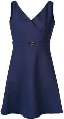 Valentino V belt dress