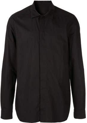 Rick Owens Pointed Collar Shirt