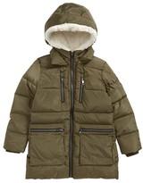 Steve Madden Girl's Hooded Puffer Jacket