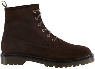 A.P.C. Ezra Flat Ankle Boots
