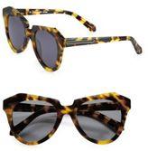 Karen Walker Number One Tortoise Acetate Cat's-Eye Sunglasses
