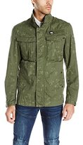G Star Men's Rovic Premium Twill Infrared Camo Overshirt