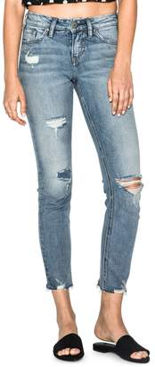 Silver Jeans Suki Slim-Fit Ankle Jeans