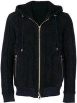 Balmain Hooded Wool Jacket