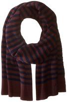 Marc Jacobs Logo Stripe Scarf Scarves