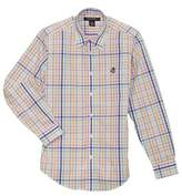 Brooks Brothers Fleece Boys' Plaid Oxford.