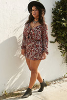 Forever 21 Plus Size Paisley Print Romper