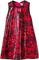 Kenzo Leopard Print Sequin Dress