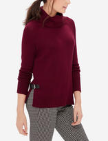 The Limited Side Buckle Turtleneck Sweater
