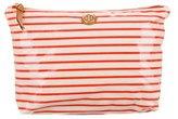 Tory Burch Striped Cosmetic Bag