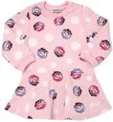 Kenzo Flowers Printed Cotton Sweatshirt Dress