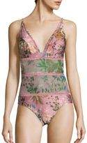 Zimmermann Tropicale One-Piece Swimsuit